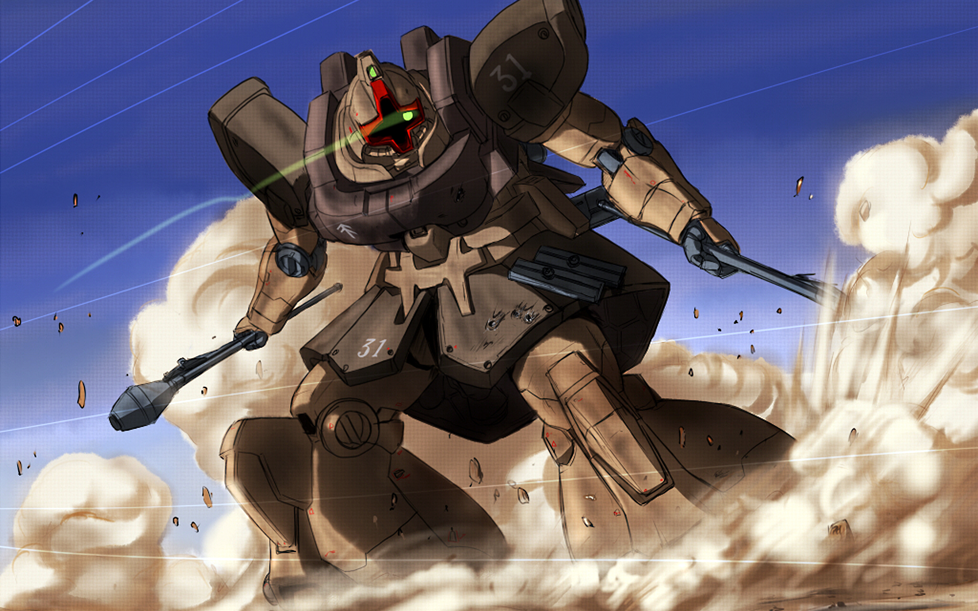 Gundam Dom wallpaper 119650 1920x1200