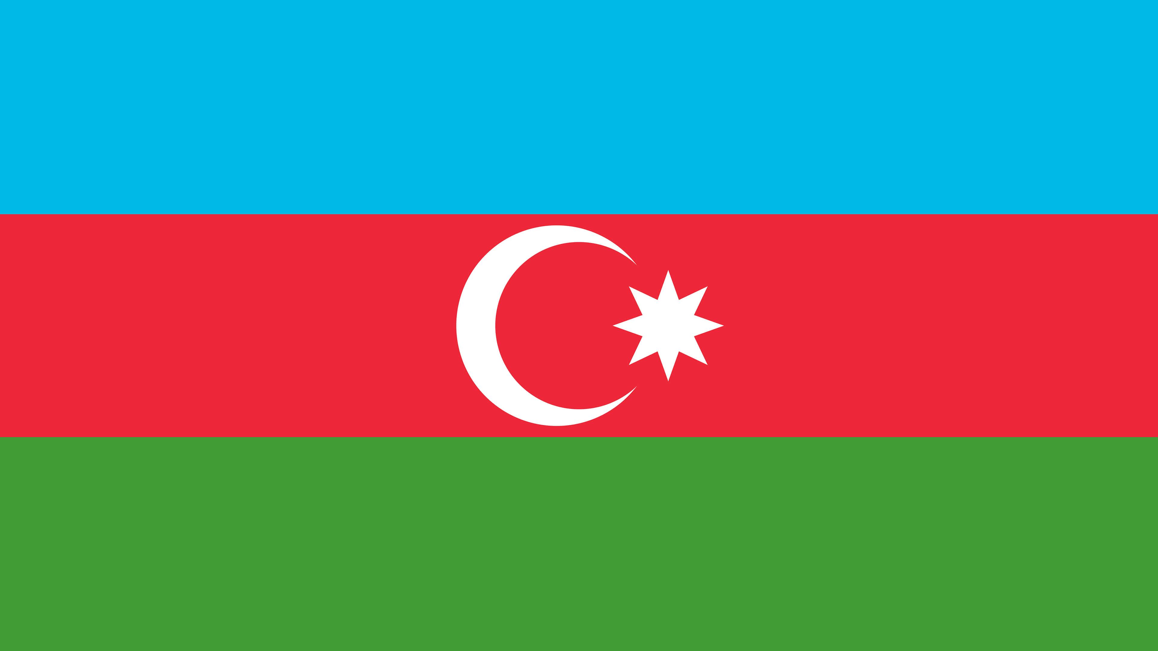 Azerbaijan Flag UHD 4K Wallpaper Pixelz 3840x2160
