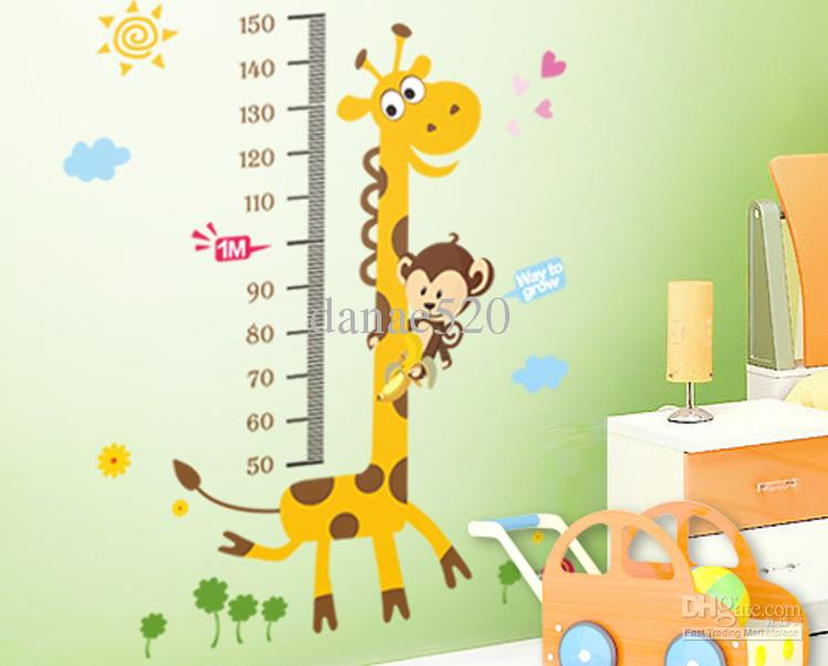 Wholesale     Removable Cartoon Wall Stickers 10pcs 6090CM Large 749x602