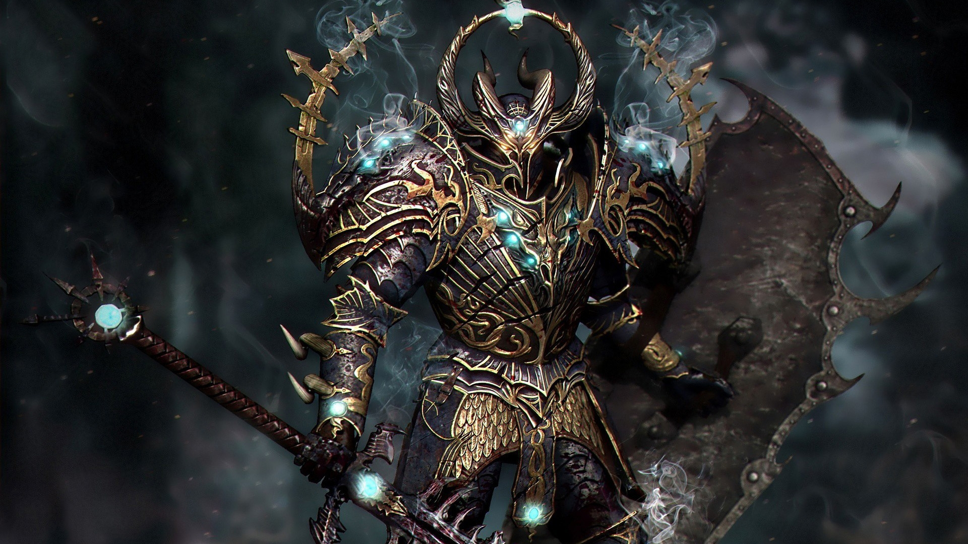 game wallpaper fullhd imagepages warior warhammer images chaos 1920x1080