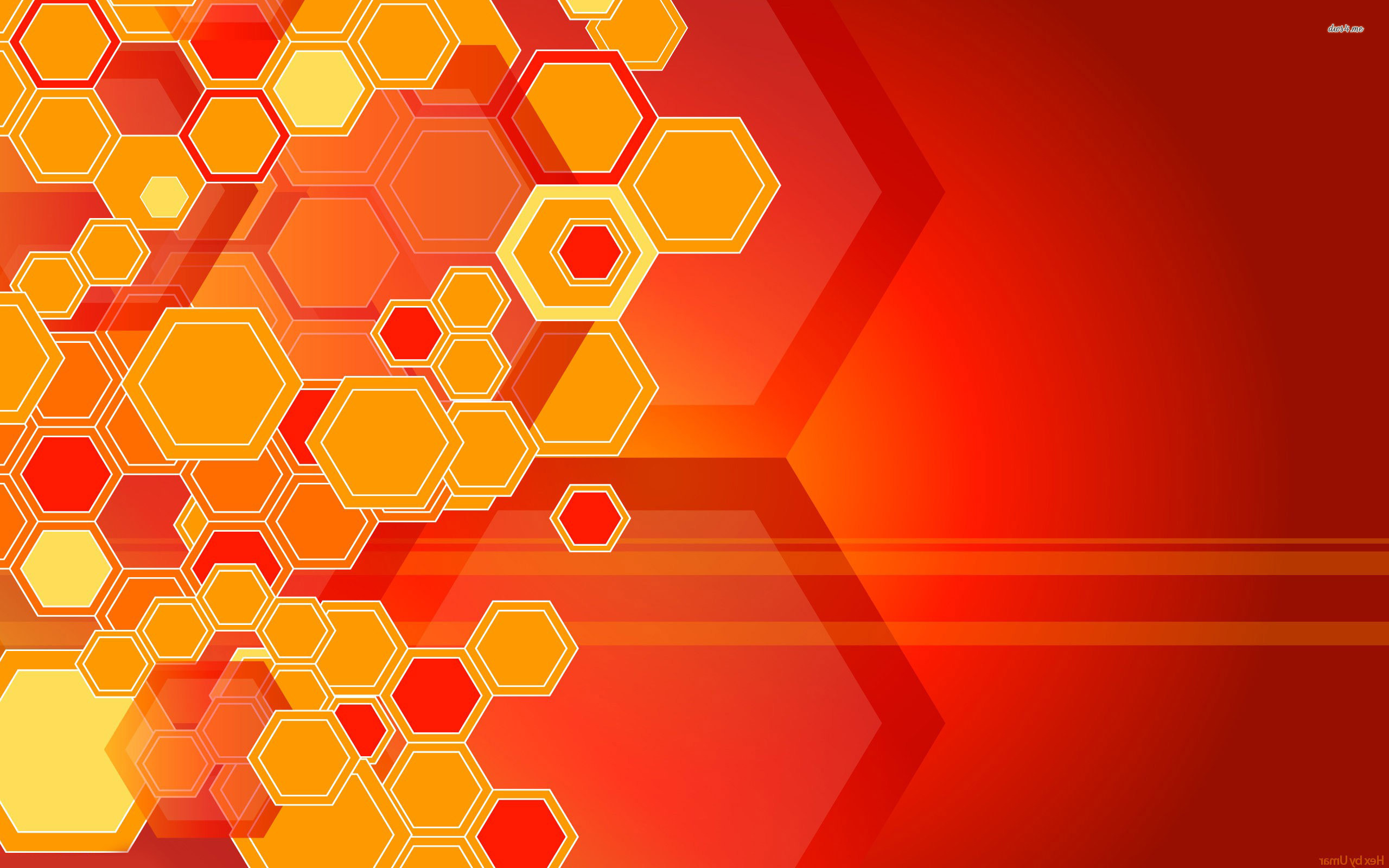 Orange honeycombs wallpaper   Abstract wallpapers   14595 2560x1600