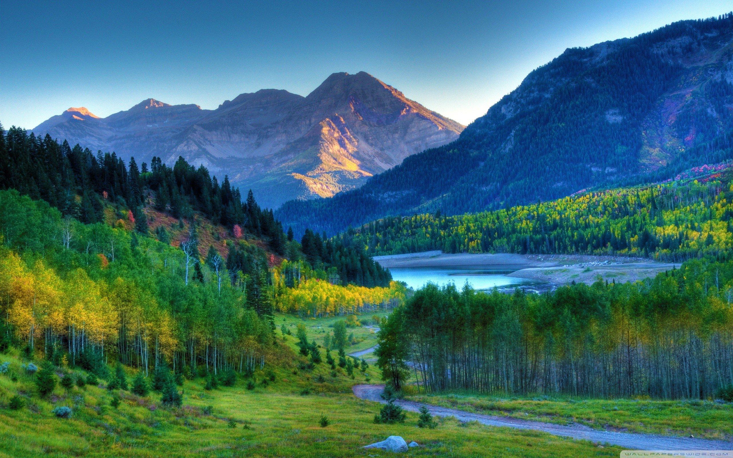 autumn mountain landscape HD Desktop Wallpaper HD Desktop Wallpaper 2560x1600