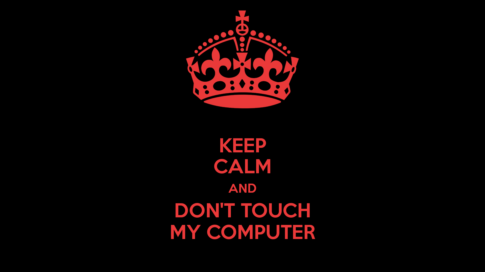 47 Dont Touch My Computer Wallpaper On Wallpapersafari
