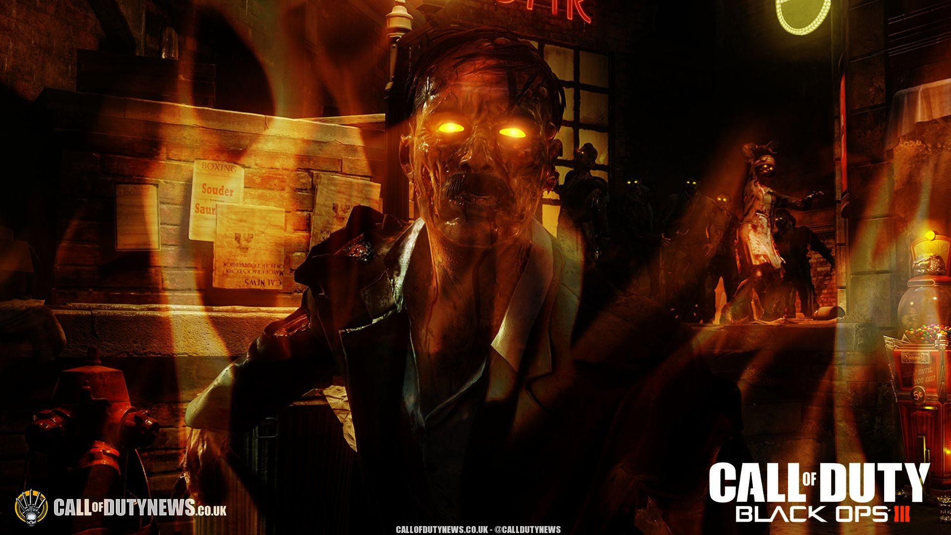 Call Of Duty Bo3 Wallpapers: Black Ops 3 Zombie Wallpaper