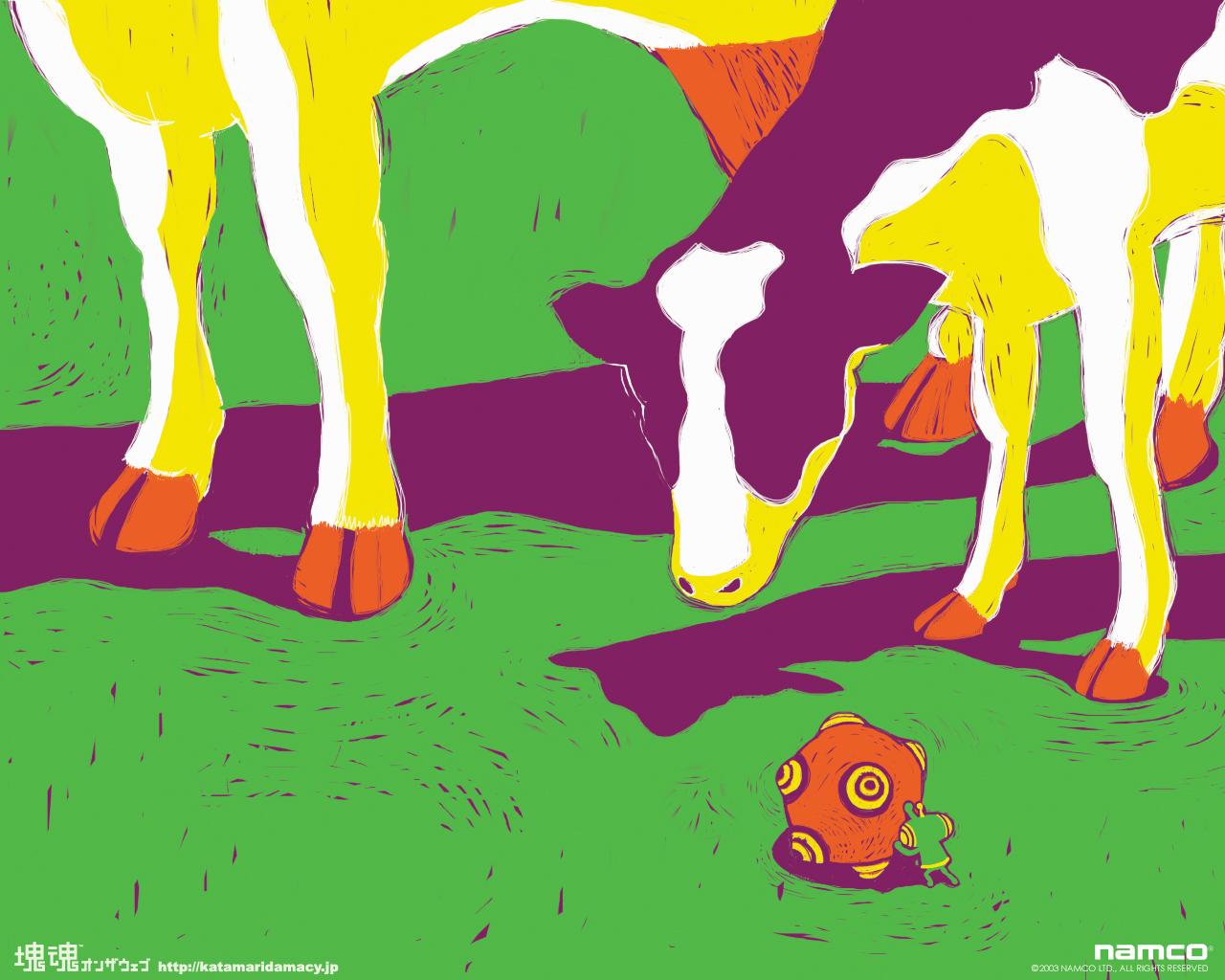 Download Cows Katamari Wallpaper 1280x1024 Wallpoper 285152 1280x1024