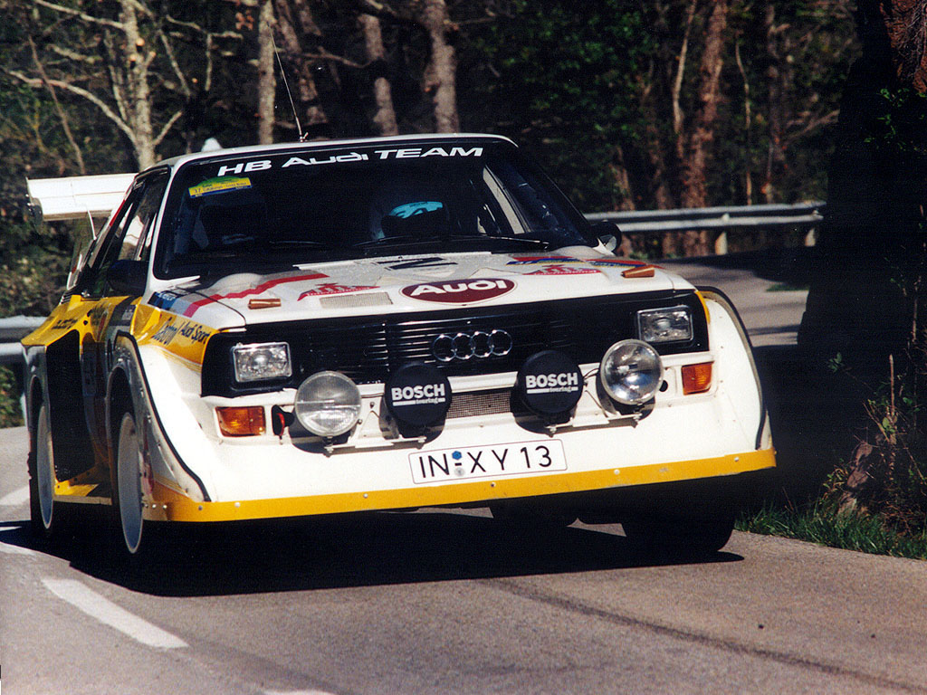 Audi Sport Quattro S1 Group B Rally Car Wallpapers Cool Cars 1024x768