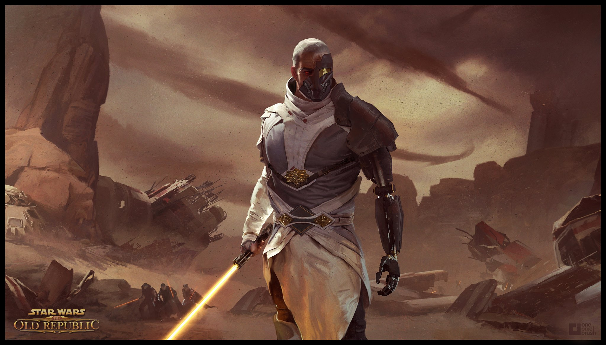 SWTOR Knights of the Fallen Empire Arcann   by demonui 2048x1167