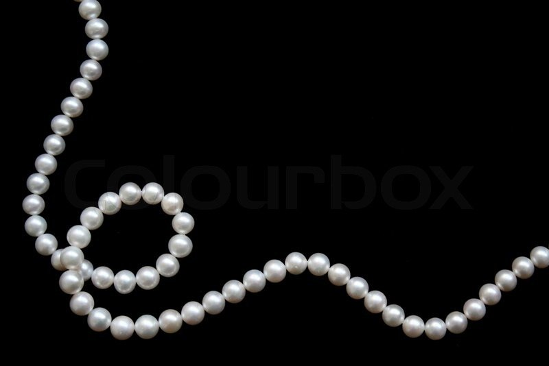 White Pearls Stock image of white pearls 800x534