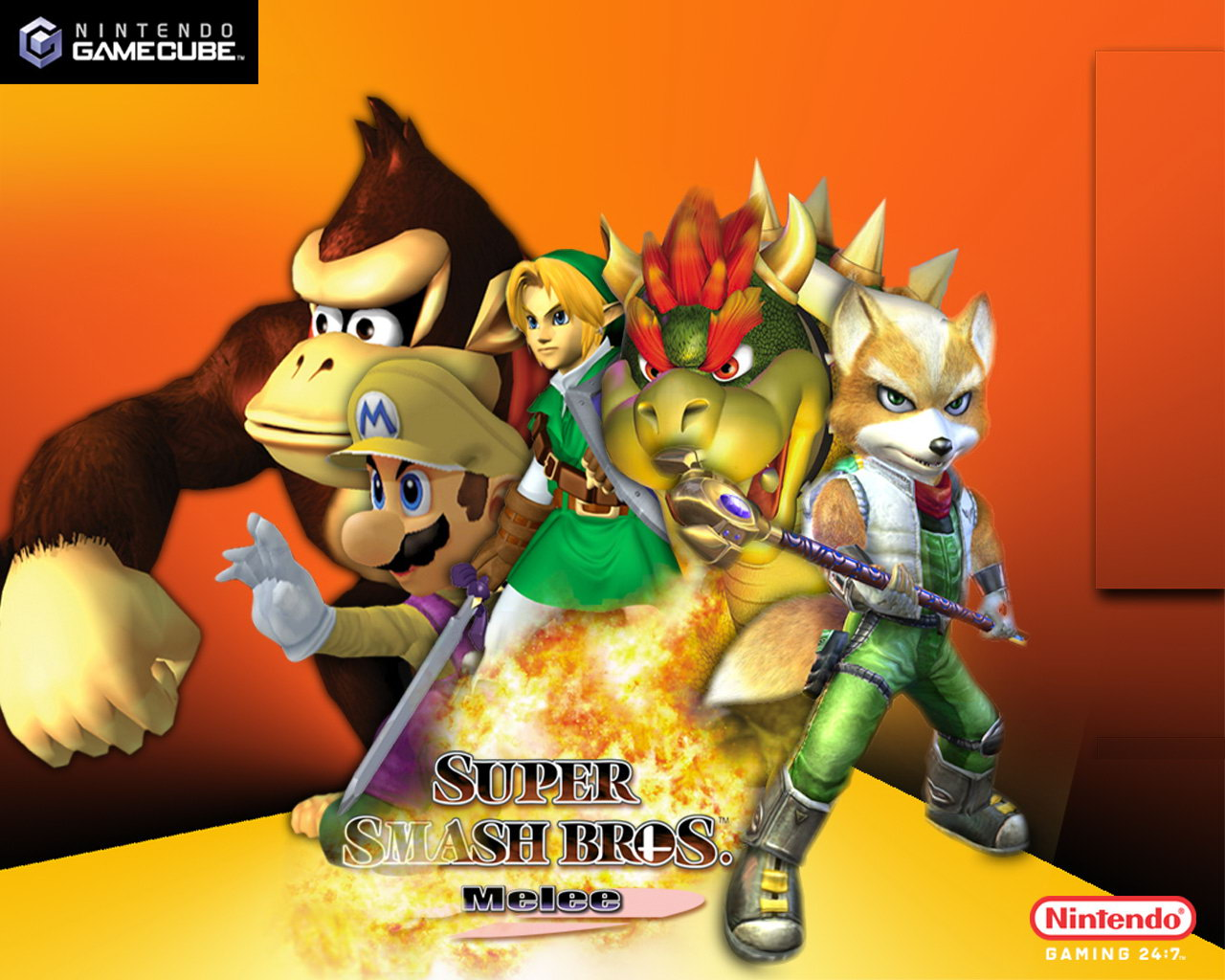 Free Download Bros Super Smash Brothers Melee Wallpaper Bros