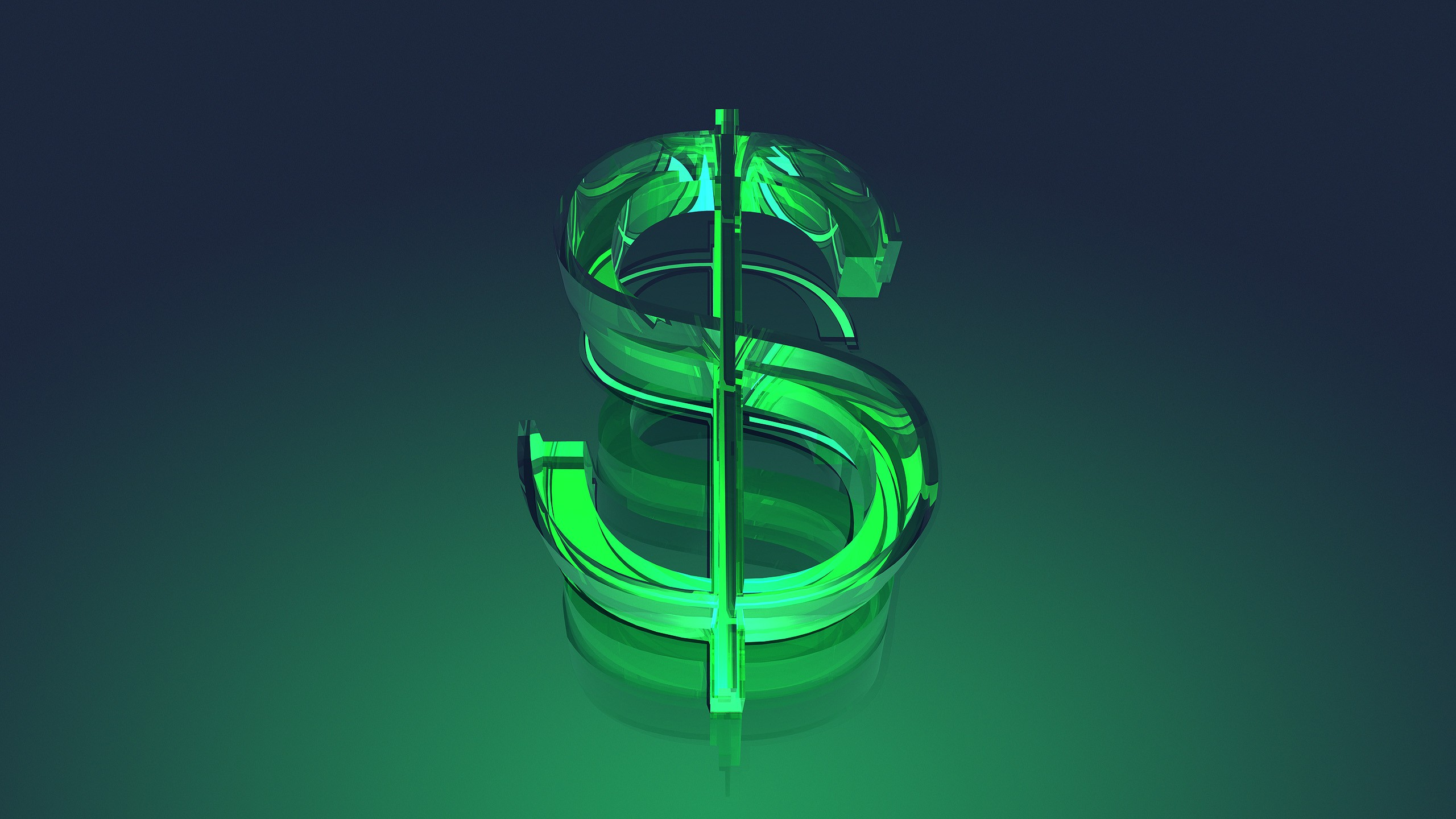 Dollar Sign Wallpapers HD 2560x1440