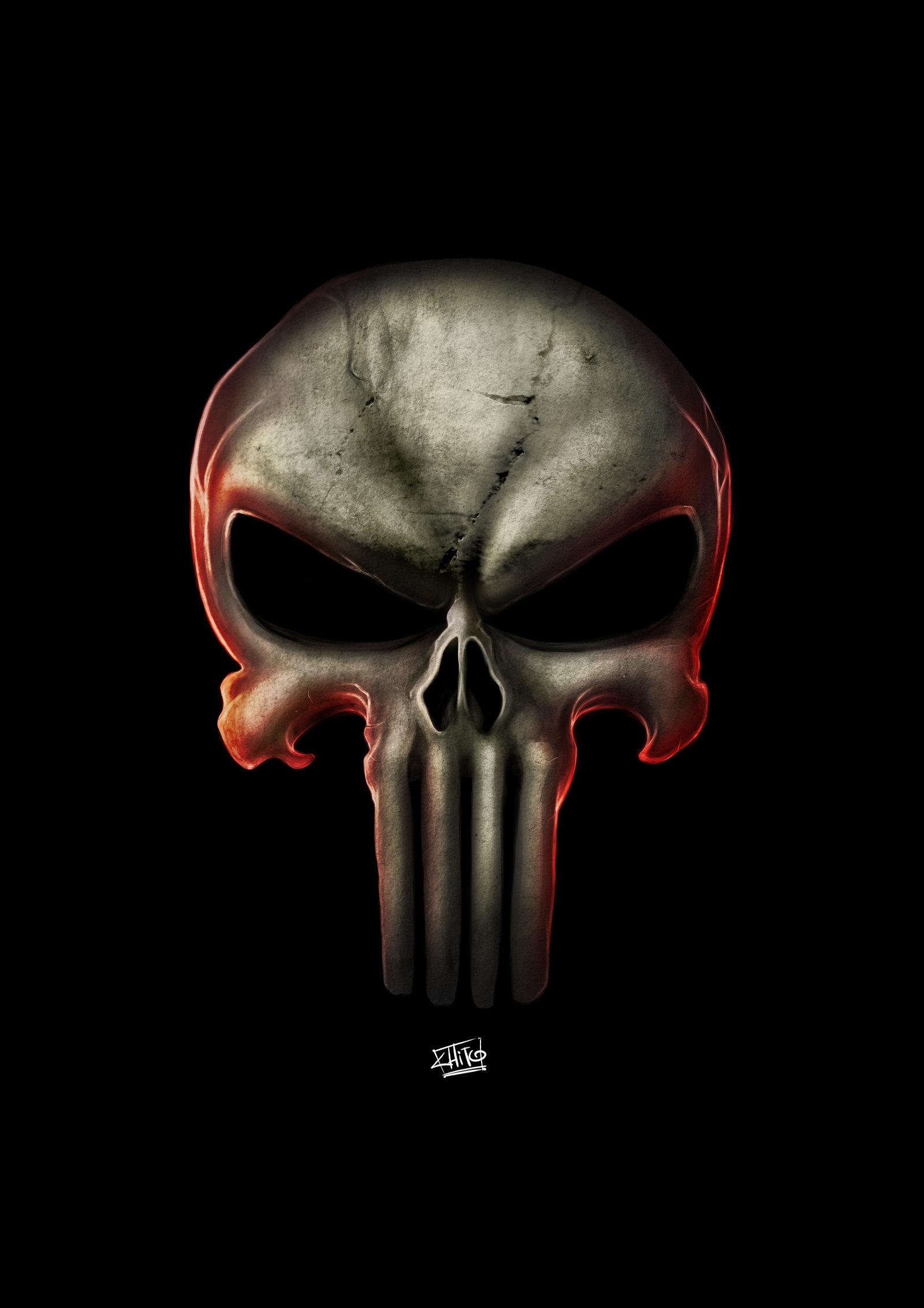 Punisher Logo by ManuDGI 1600x2263