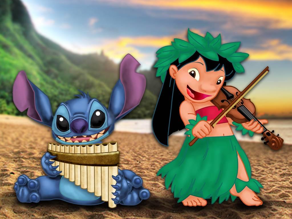 Lilo and Stitch Wallpaper 4   Disney Wallpaper 1024x768