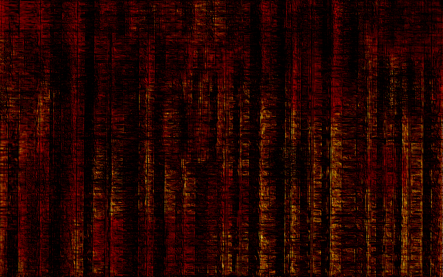 Blackdust burned a fluxbox theme and a wallpaper Techtimejourney 1440x900