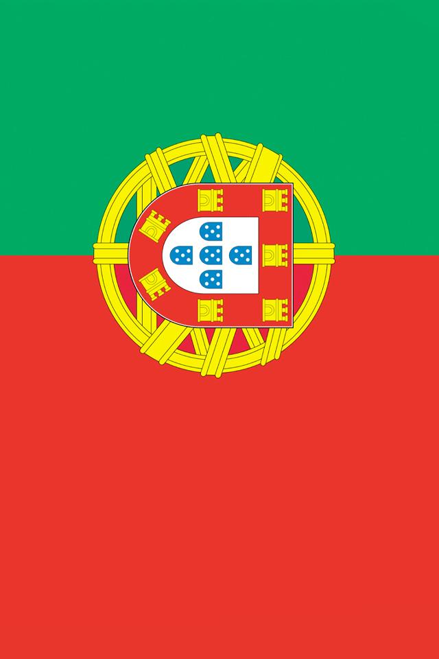 Portugal Flag iPhone Wallpaper HD 640x960