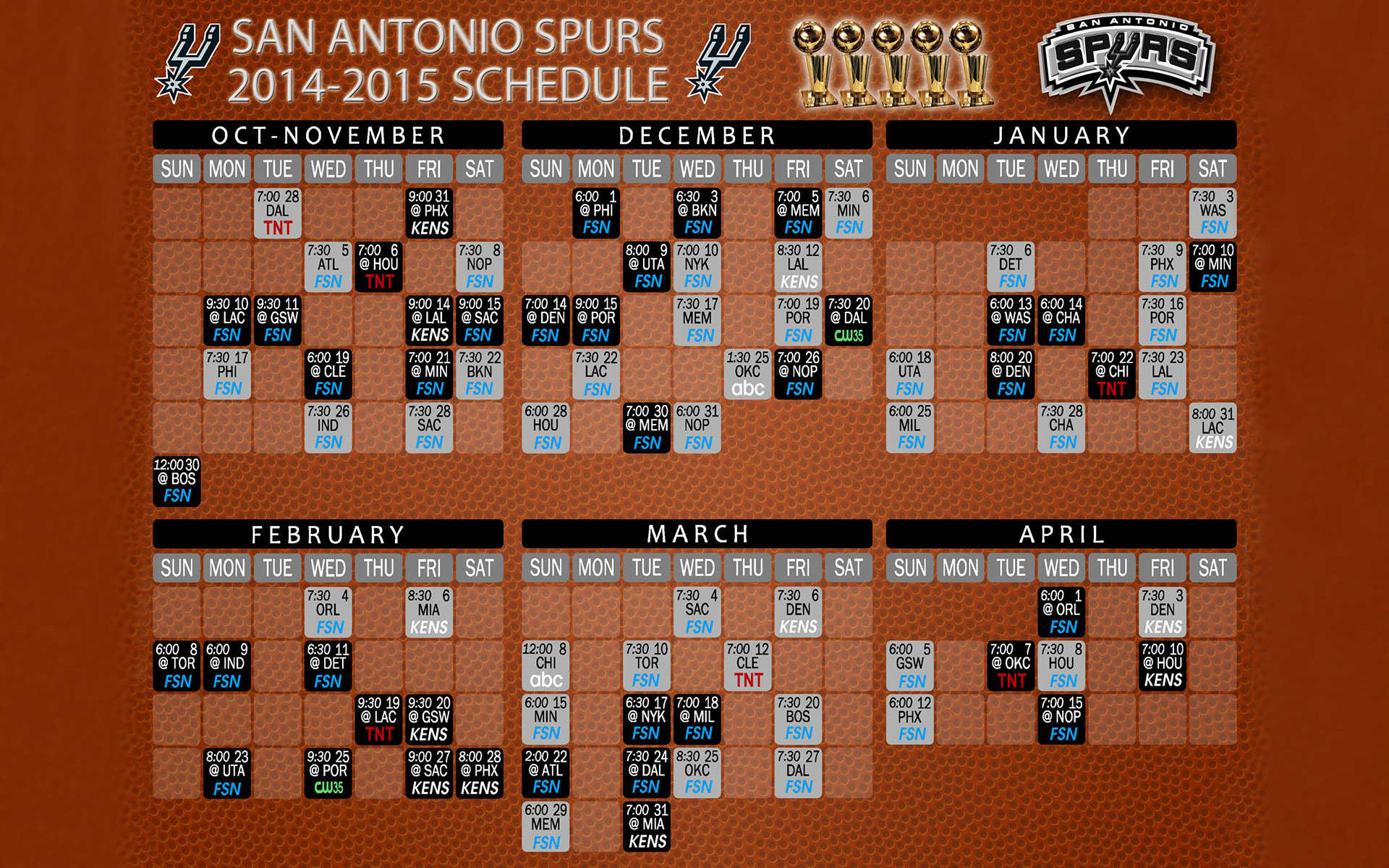 It is a graphic of Playful Spurs Schedule Printable