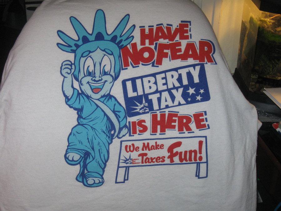 liberty tax service shirt by MitsuTaisho on deviantART 900x675
