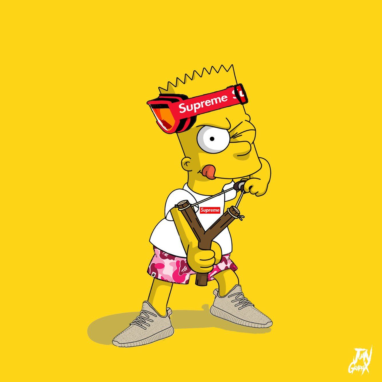 Hypebeast Bart Simpson Wallpapers   Top Hypebeast Bart 1334x1334