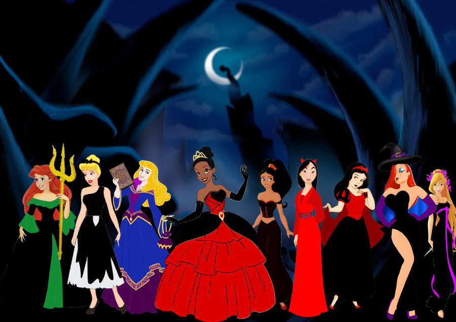 Disney Halloween by SuneeStride 900x636