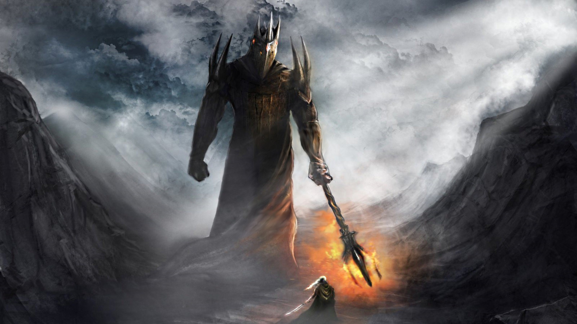 Morgoth vs Fingolfin wallpaper   1023823 1920x1080
