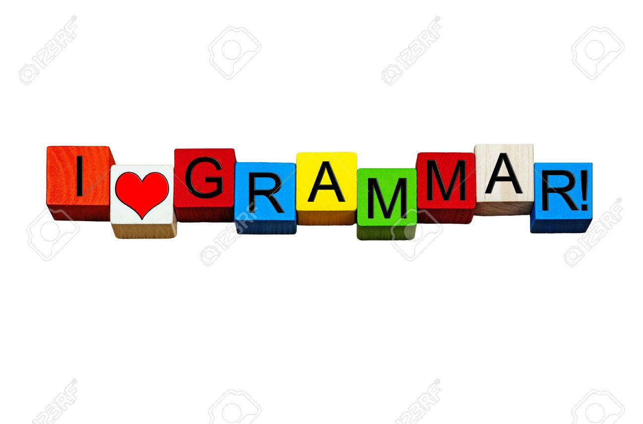 I Love Grammar   Sign For Education Teaching English Language 1300x857