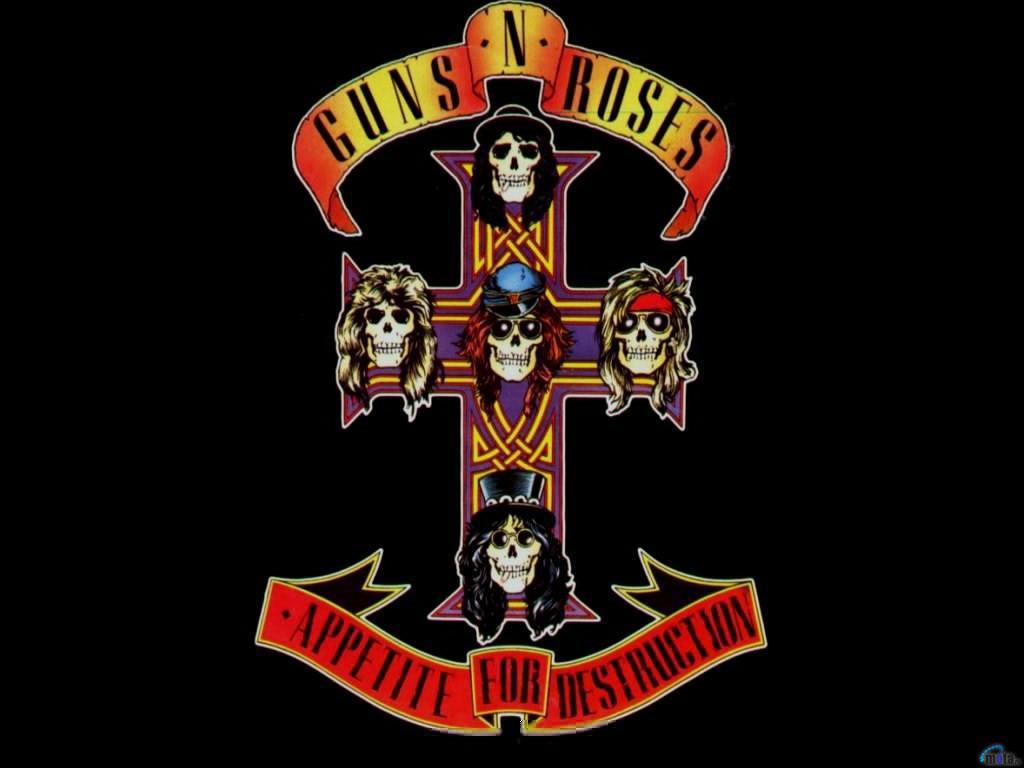 Download wallpaper Guns N Roses   Appetite for Destruction 1024x768