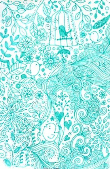 pretty blue wallpaper - wallpaperium