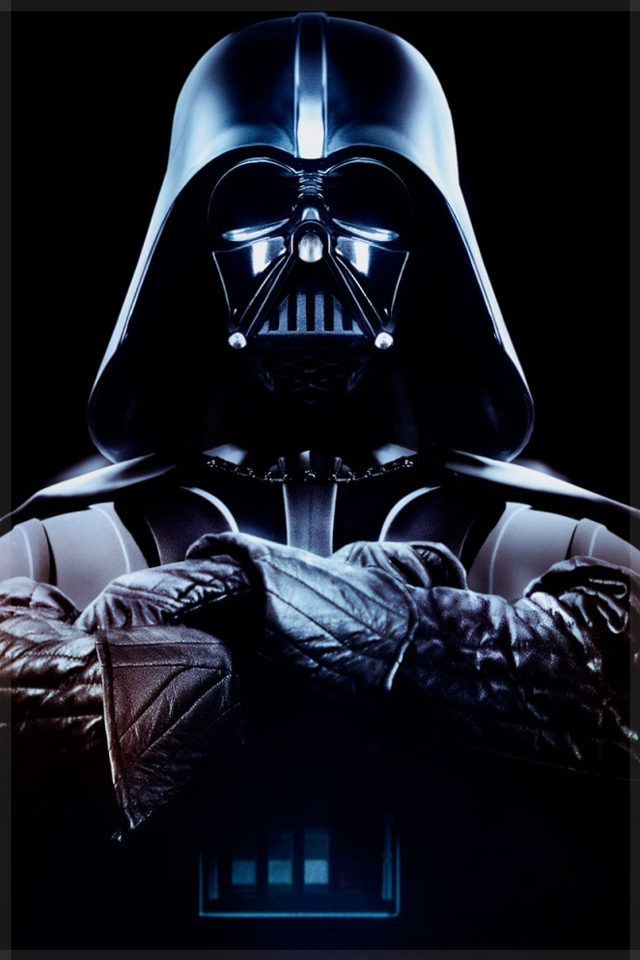 dark vader star wars phone wallpaper 640x960