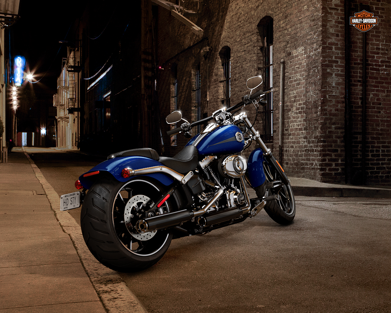 Harley Davidson HD WallpapersHigh Quality   All HD 1280x1024