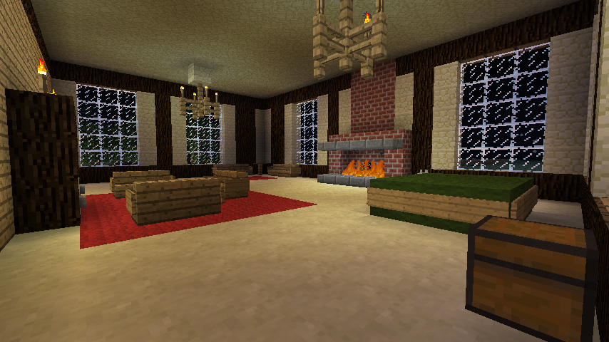 Minecraft Living Room by coolkitt2 854x480