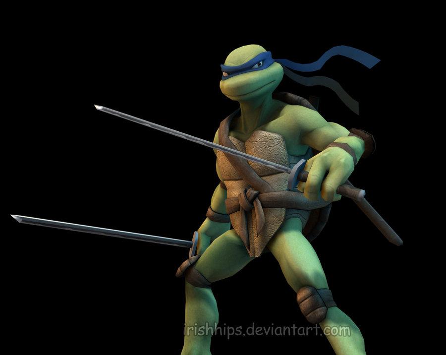 Ninja Turtles Leonardo Wallpaper Tmnt leonardo by irishhips 900x716