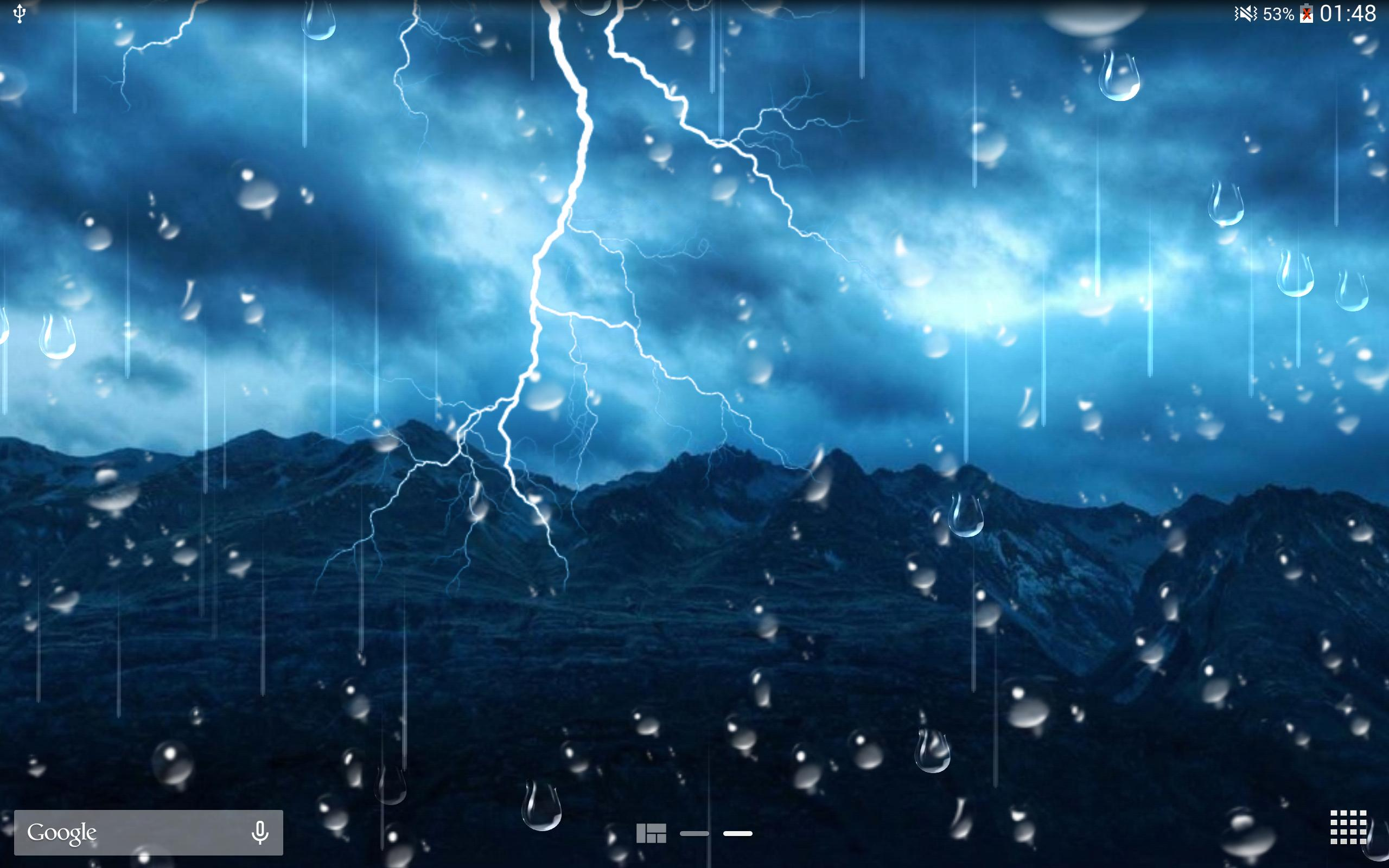 Thunder Storm Live Wallpaper for Android   APK Download 2560x1600