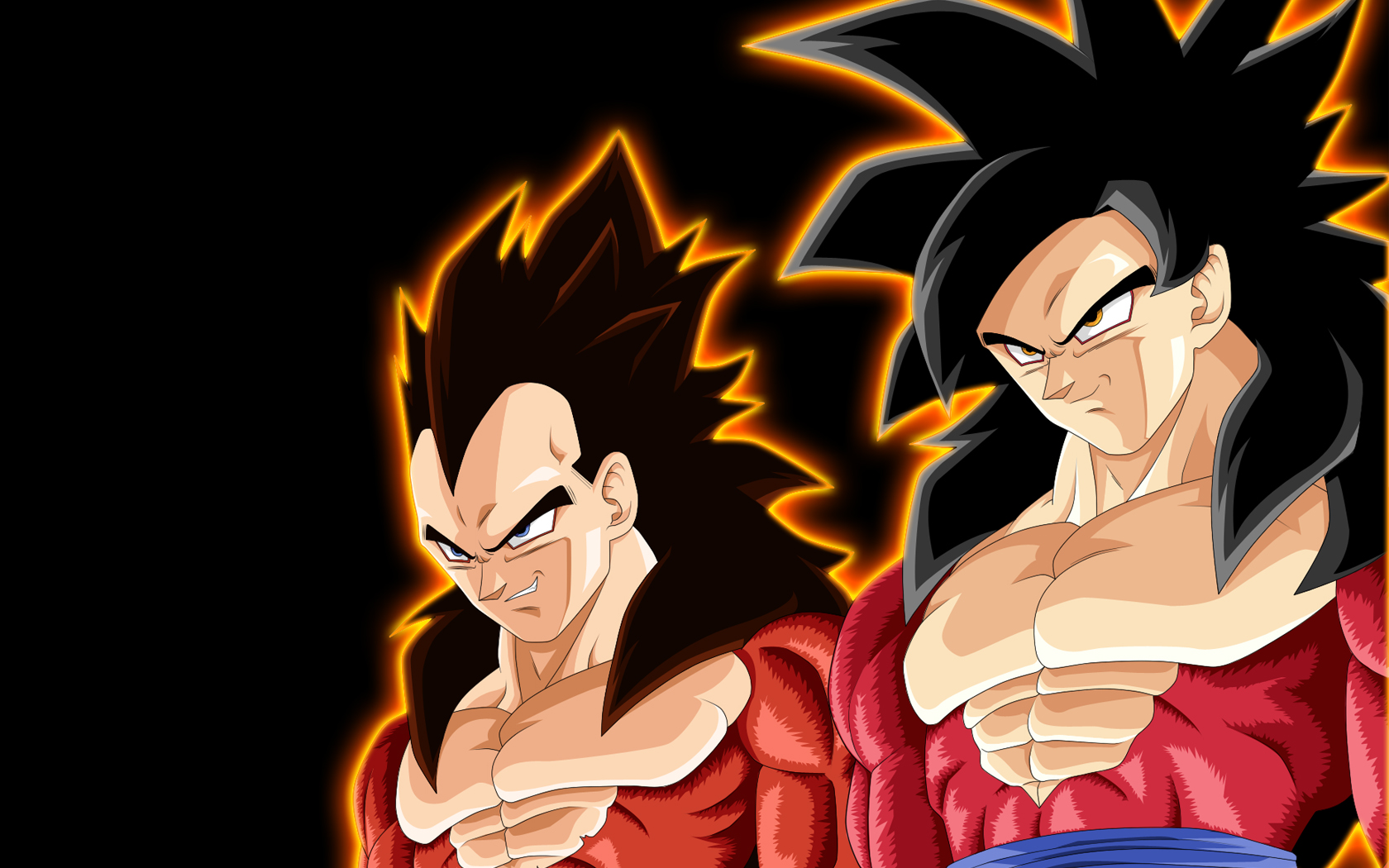 super saiyan 4 goku et vegeta Wallpaper   ForWallpapercom 1680x1050