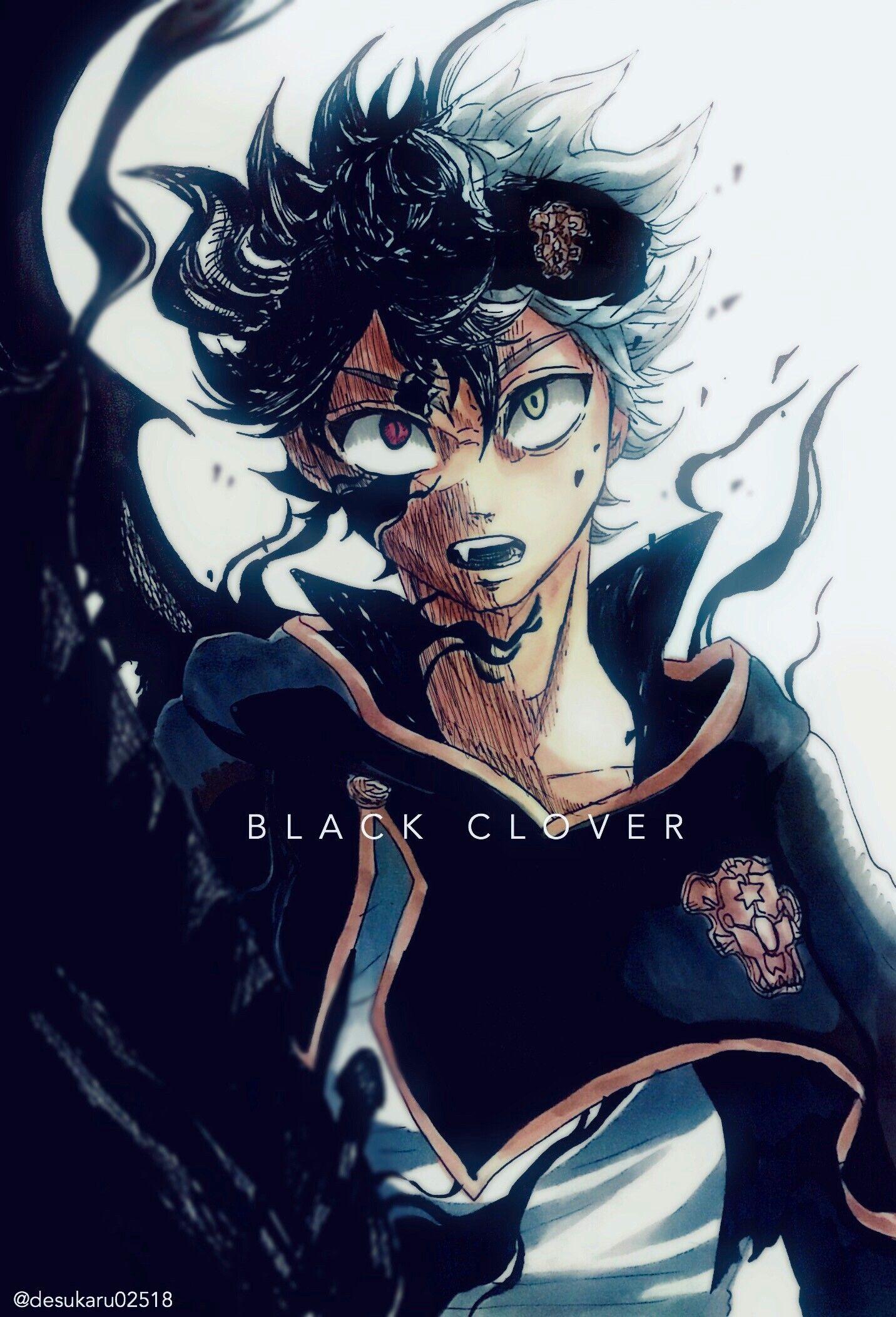 Asta from Black Clover BLACK CLOVER Black clover manga Black 1432x2104
