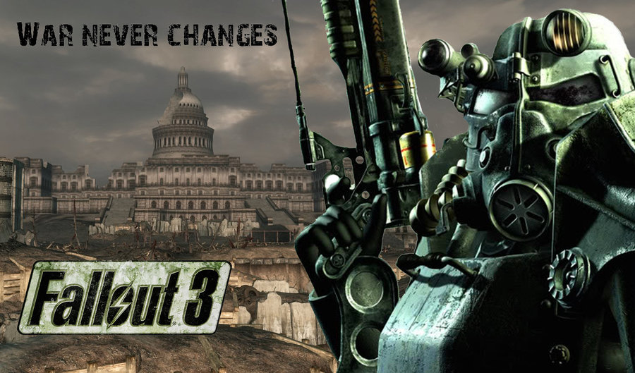 Fallout 3 Logo Wallpaper Images Pictures   Becuo 900x529