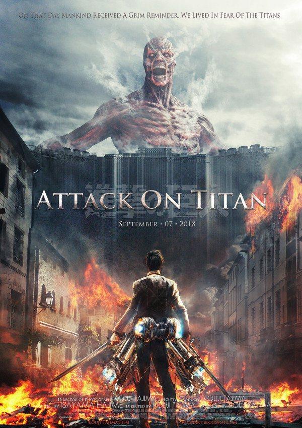 Attack On Titan Movie Attack On Titan Movie HD Wallpapers 600x849