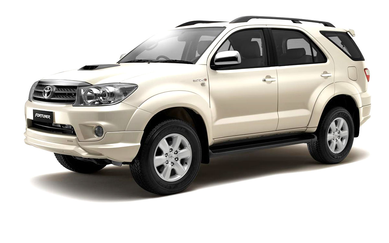 Toyota Fortuner Edition   Toyota Fortuner White Colour Hd 1280x800