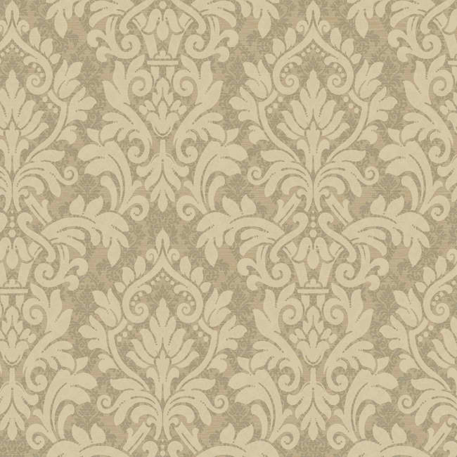 Beige Taupe HD6925 Layered Damask Wallpaper   Textures Wallpaper 650x650