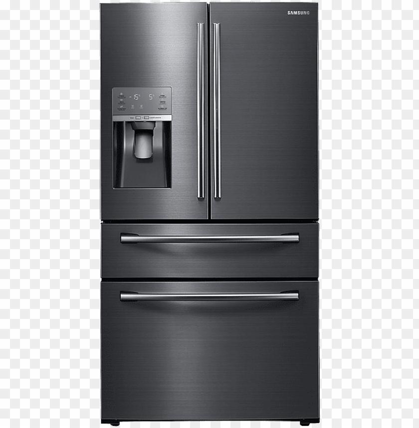 clip stock fridge clipart door   samsung 28 cuft 4 door 840x859