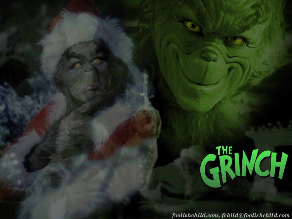 The Grinch   How The Grinch Stole Christmas Wallpaper 30805579 1024x768