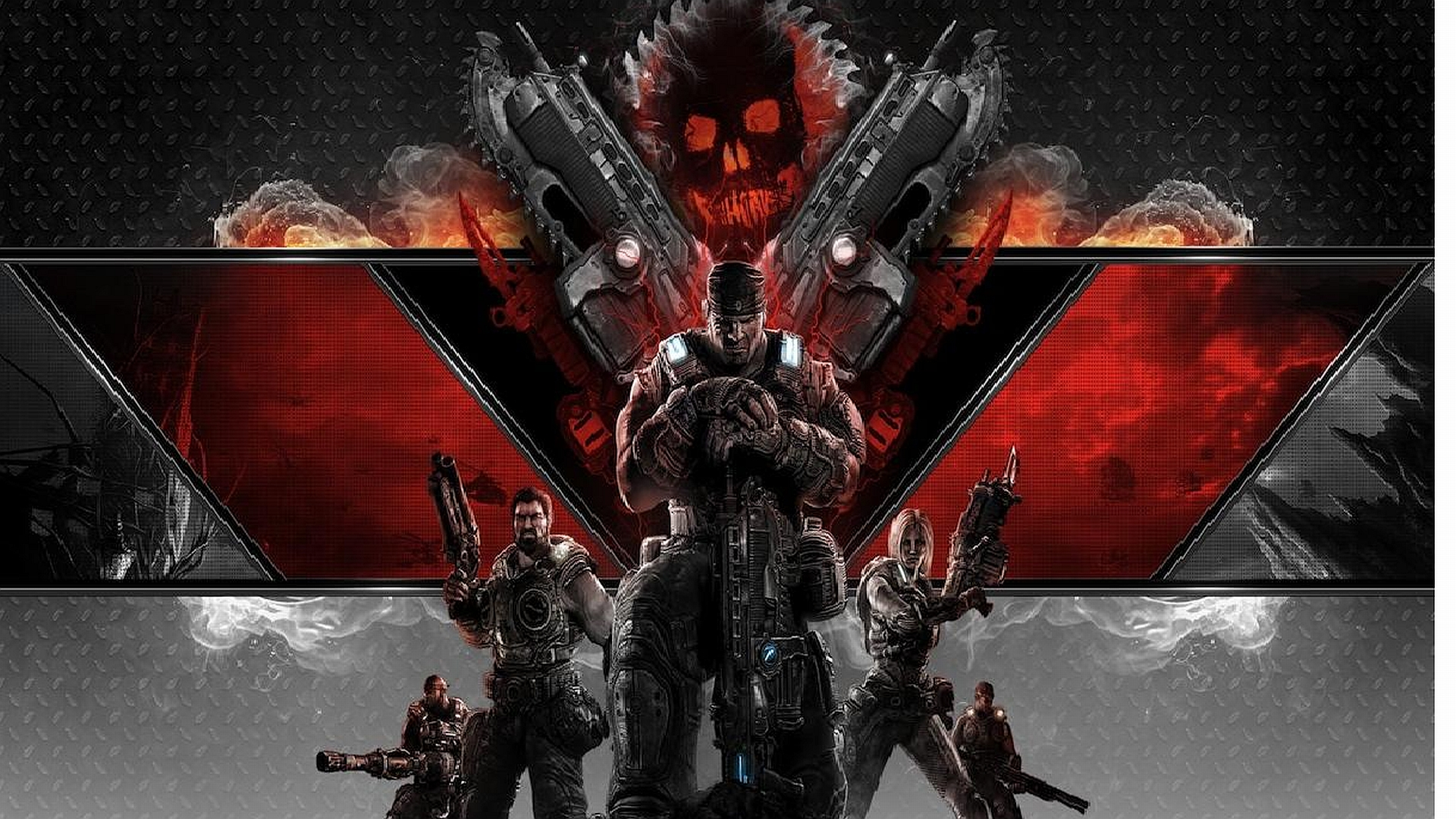 gears of war 3 backgrounds hd wallpapers Car Pictures 1920x1080