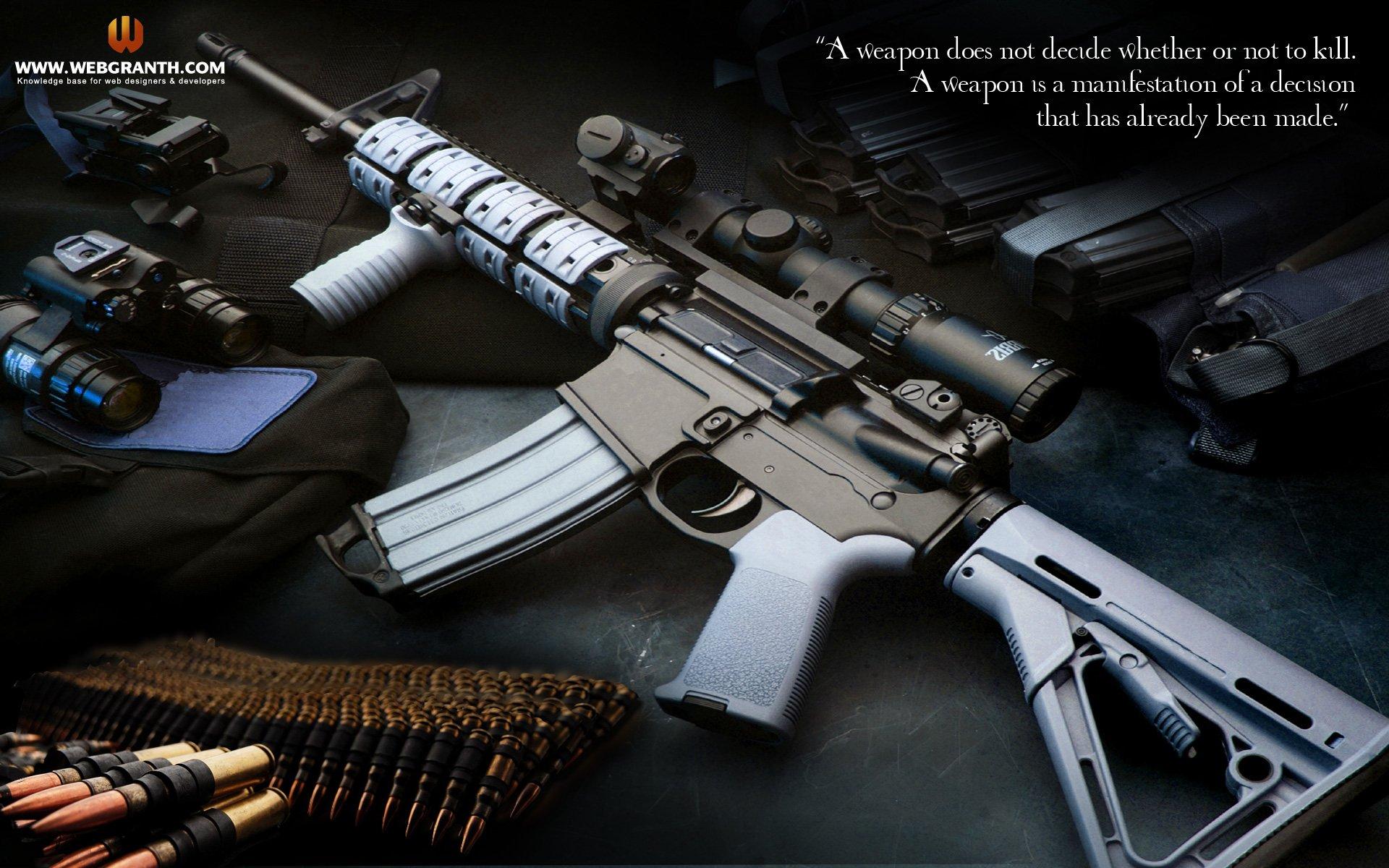 HD Guns Wallpaper Download HD Guns Weapons Wallpapers   Webgranth 1920x1200