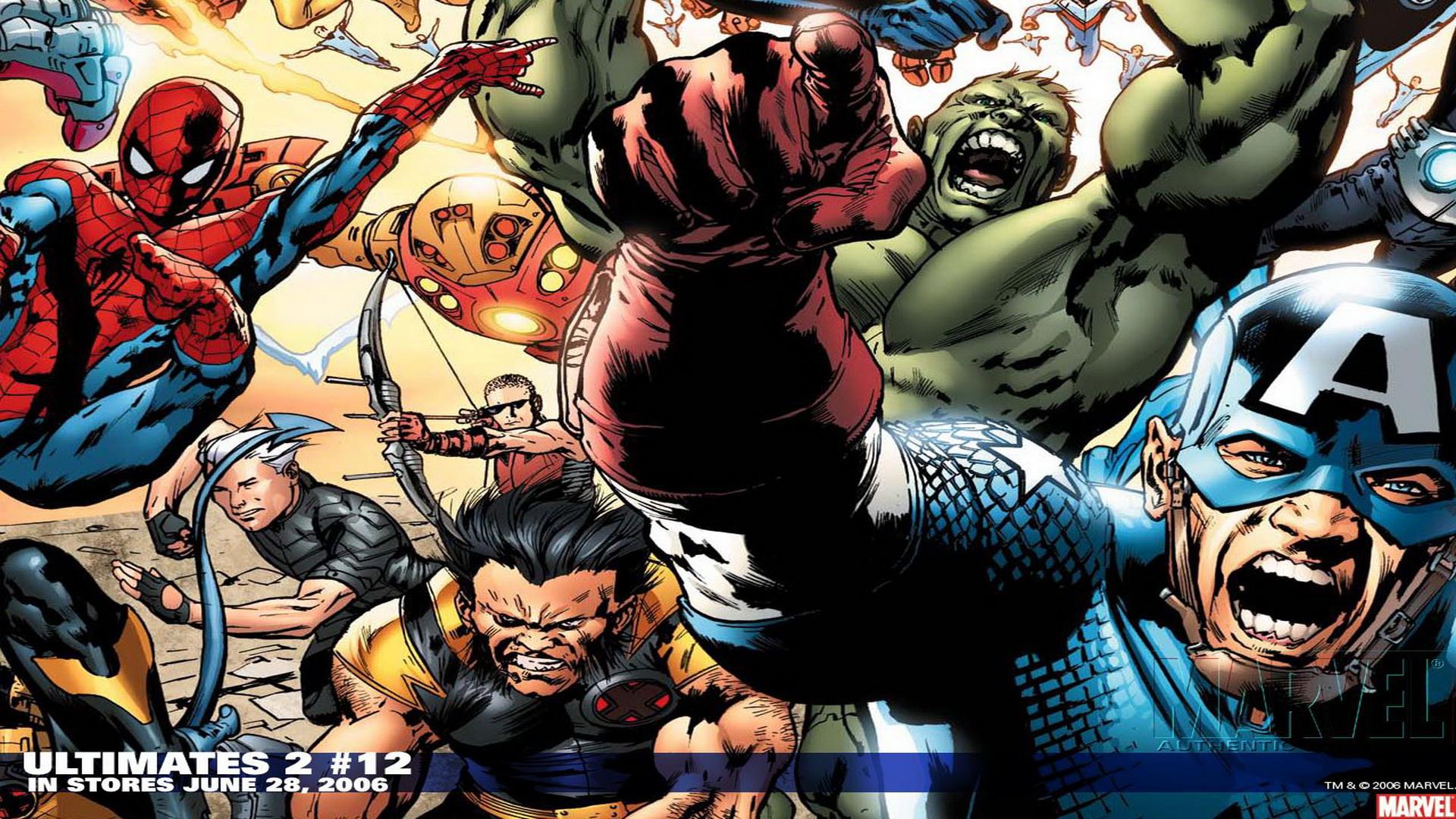47 Marvel Comics Hd Wallpaper On Wallpapersafari