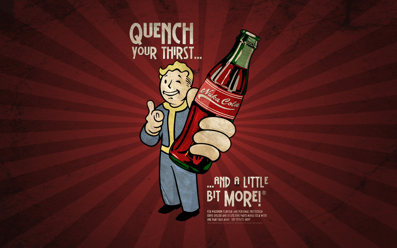Free Download Nuka Cola Wallpapers 1280x800 For Your