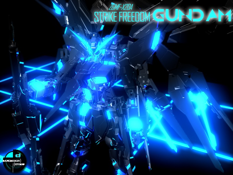 Mobile Suit Gundam SEED Destiny Wallpapers strike freedom gundam 790x593