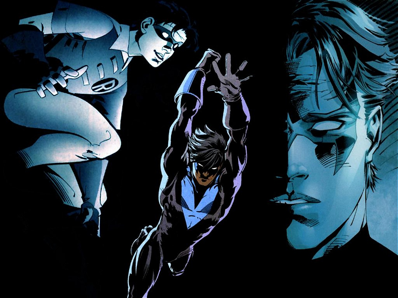 Nightwing Wallpaper Wallpaper 1280x960 Nightwing Wallpaper Picture 1280x960