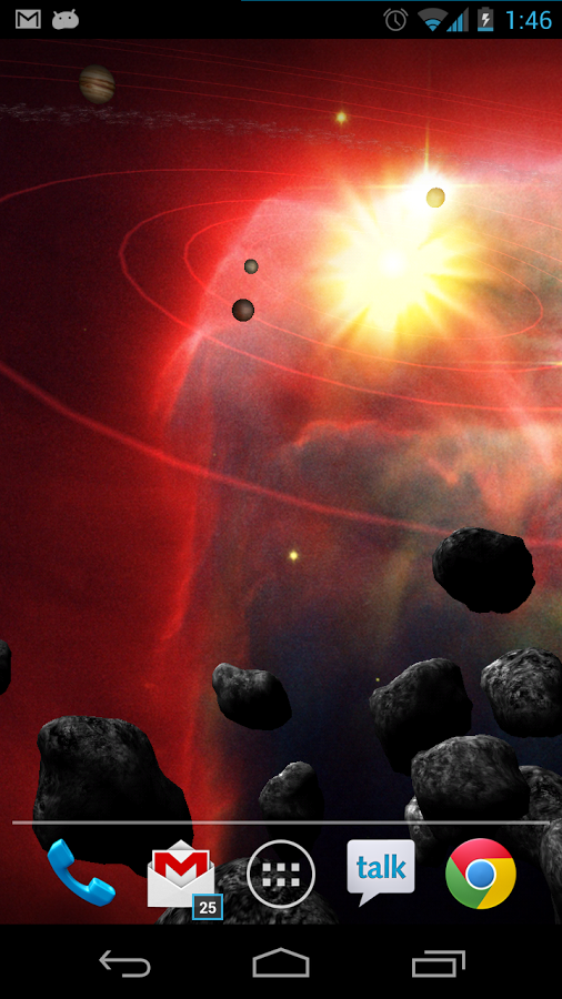 Asteroid Belt Live Wallpaper   Android Apps on Google Play 506x900
