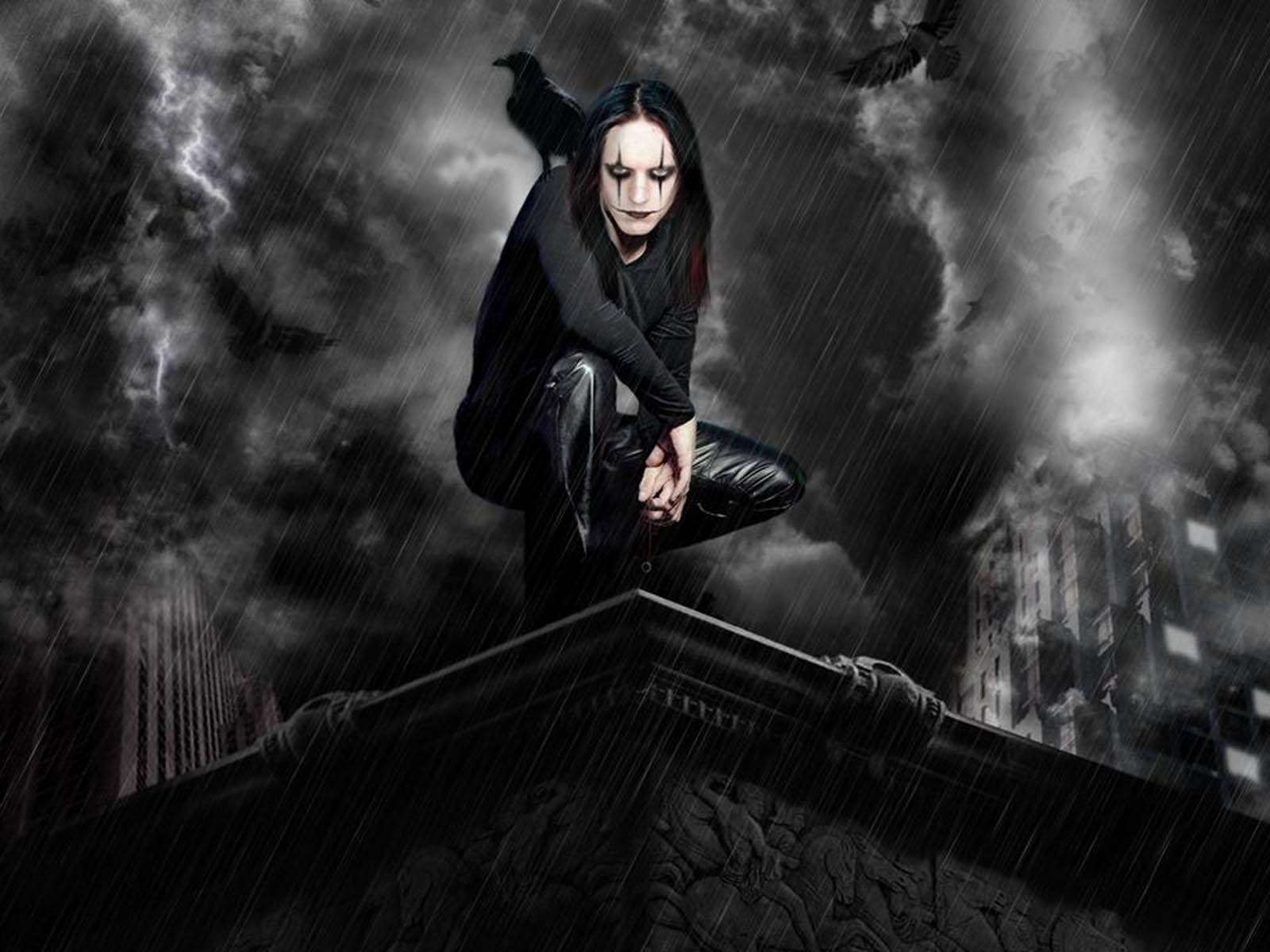 wallpaper Dark Gothic Wallpapers 1600x1200