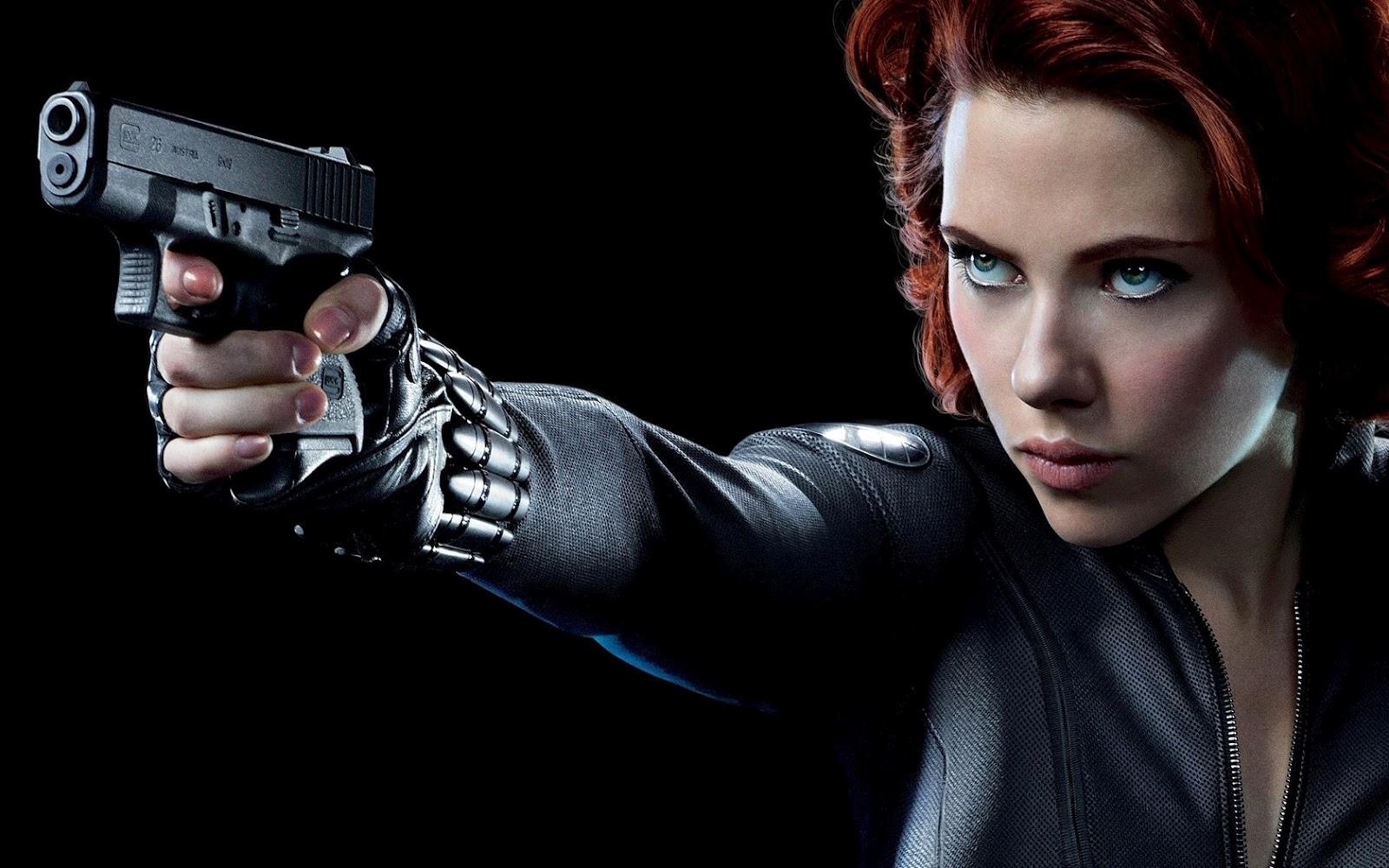 Wllpaper The Avengers Scarlett Johansson Black Widow Wallpaper 1600x1000