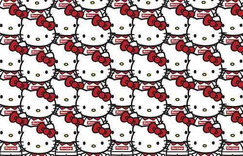 500x321px Red Hello Kitty Wallpaper Wallpapersafari