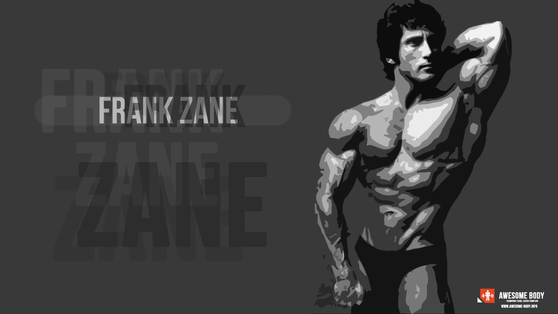 Frank Zane Poster Bodybuilding Pictures Awesome Body 1920x1080